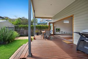 Enjoy the outdoor space at Cooks Hill Cottage
