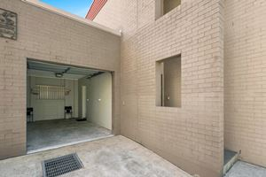 The Garage of a 2 Bedroom Townhouse Apartment at Birmingham Gardens Townhouses.