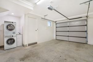 The Lockup Garage of a 3 Bedroom Townhouse Apartment at Birmingham Gardens Townhouses.