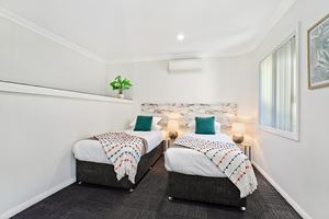 The Third Bedroom of a 3 Bedroom Townhouse Apartment at Birmingham Gardens Townhouses.