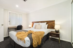 The Fourth Bedroom of a 5 Bedroom Townhouse Apartment at Birmingham Gardens Townhouses.