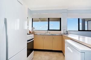 The Kitchen of Flagstaff Apartment