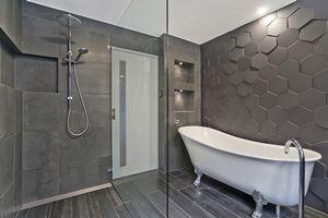 The Main Bathroom of Glebe Road Adamstown.