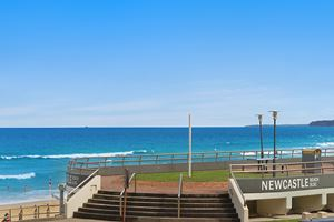 Newcastle Beach.